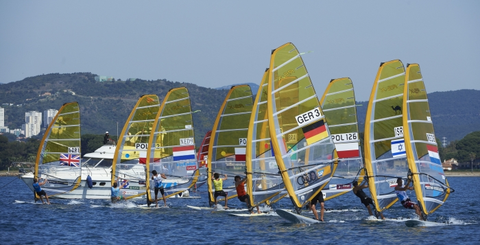 The final day of the ISAF Sailing World Cup in Hyères came to an end with all the medal races today ©ISAF