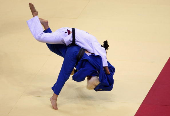 Visually impaired judoka from 10 countries visited Brazil last week to take part in a special training camp ©Getty Images