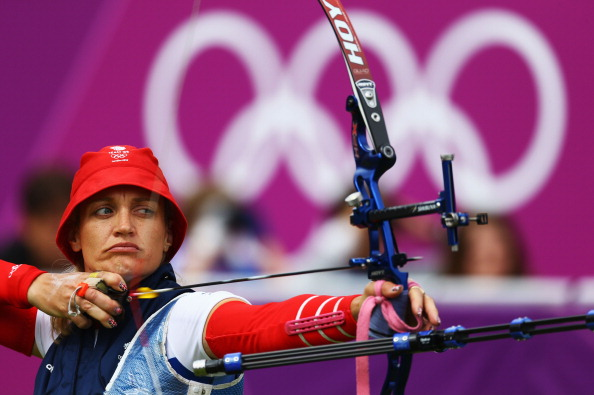 Alison Williamson, pictured at her sixth Olympics in London, has retired ©Getty Images