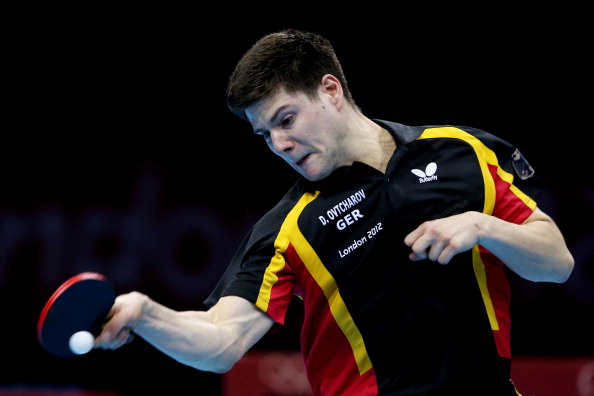 Germany's world ranked No4 player Dima Ovtcharov could be the sport's Great New Hope, according to its President ©Getty Images