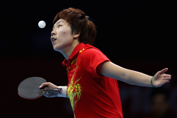 China's Li Xiaoxia, the Olympic and world champion, currently dominates the women's game ©Getty Images