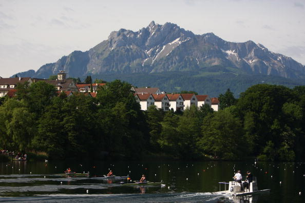 World Rowing Cup II in 2016 will be held in Lucerne and will double as the Olympic trials ©Getty Images