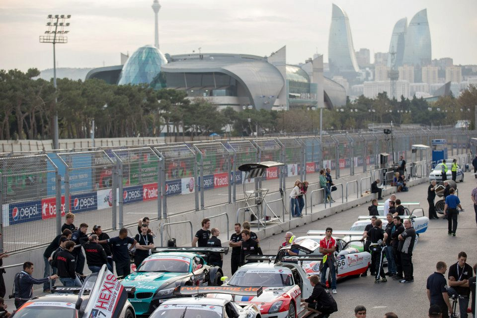 Baku already hosts an annual event for GT3 cars which takes place around the city's streets under the shadow of the iconic Flame Towers ©City Challenge Baku