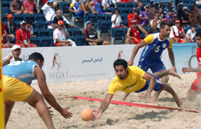 The first GCC Beach Games in Bahrain proved a success but the second edition is proving more difficult to stage ©OCA