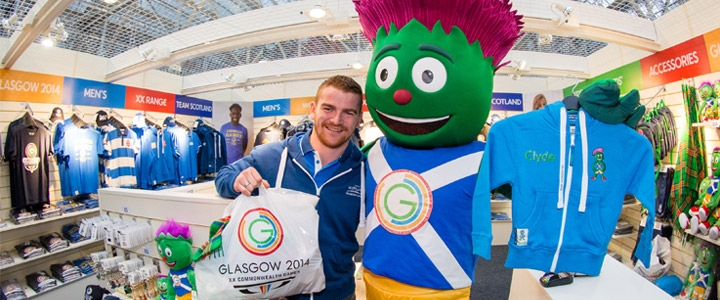 Ty Speer has overseen the launch of a successful Glasgow 2014 commercial programme, including raising £100 million in sponsorship and the sale of more than two million tickets ©Glasgow 2014