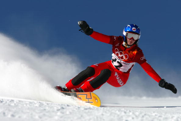 Jagna Marczułajtis-Walczak, a snowboarder who competed in three Olympic Games, was leading Krakow's bid for the 2022 event ©Getty Images