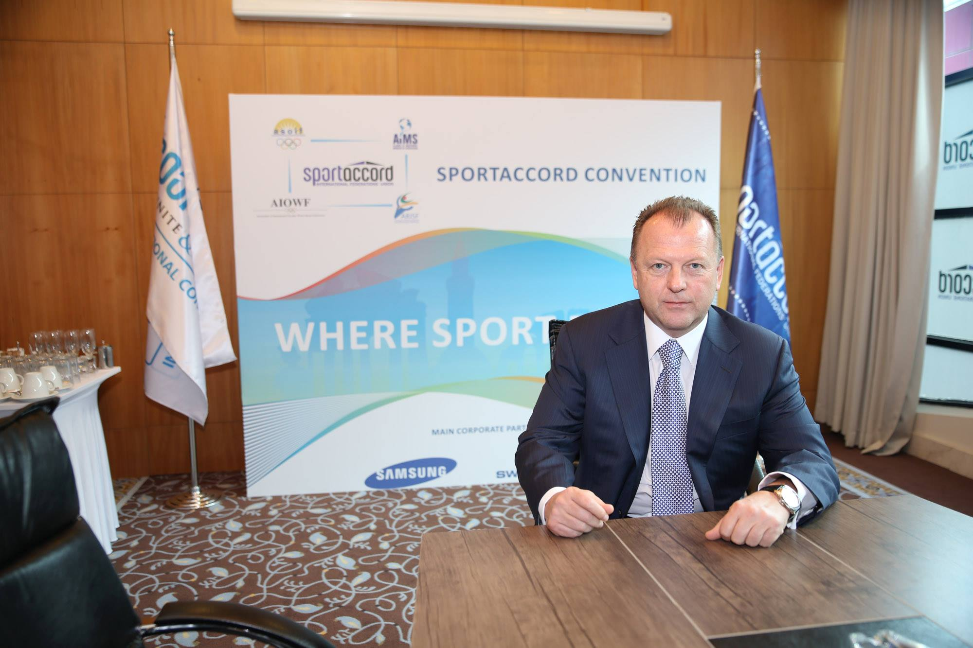 Marius Vizer is set to launch a new strategy for the 2015 SportAccord International Convention, he has revealed ©SportAccord Convention