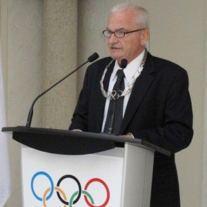 Ron Froehlich is stepping down as President of the International World Games Association World Games ©FIG