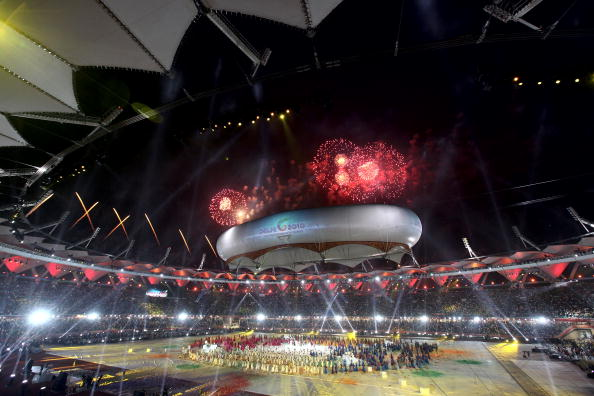 An Indian bid would use the facilities and experience garnered when Delhi hosted the Commonwealth Games in 2010 ©Getty Images