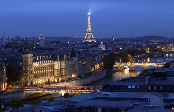A new poll suggests support in France for a Paris 2024 bid has risen ©AFP/Getty Images