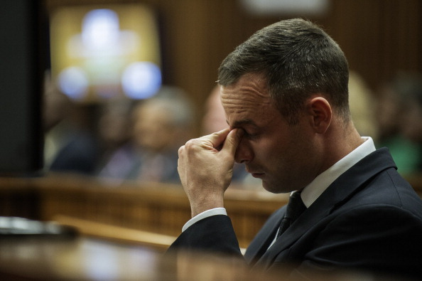 """A social worker disputed suggestions Oscar Pistorius is """"acting"""" on the latest day of his murder trial ©AFP/Getty Images"""