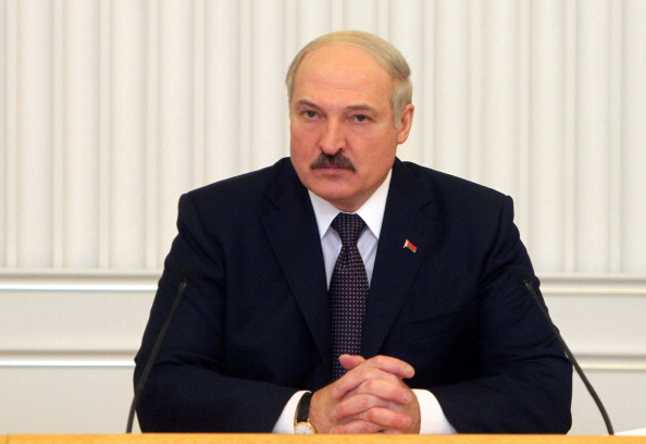 Alexander Lukashenko, described as the last dictator of Europe in an open letter to players competing in the World Ice Hockey Championships, has been President of Belarus for 20 years ©AFP/Getty Images