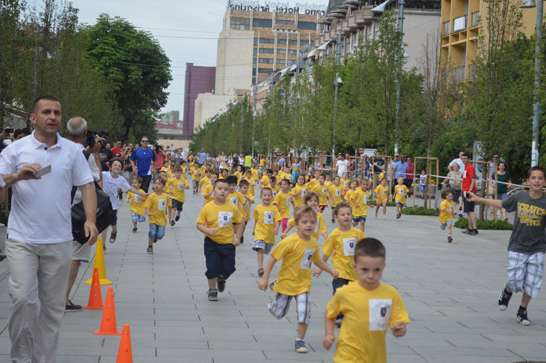 An annual Olympic Day is held in Kosovo to encourage sporting participation ©KOC