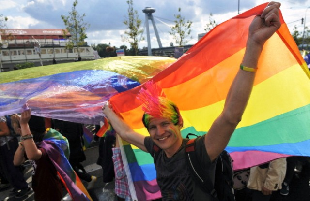 Athletes, spectators and visitors in Glasgow will also have access to a Pride House which will be open for the duration of the Games ©AFP/Getty Images