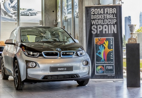 BMW has signed a deal to become a national supporter of the Basketball World Cup in Spain ©FIBA/BMW