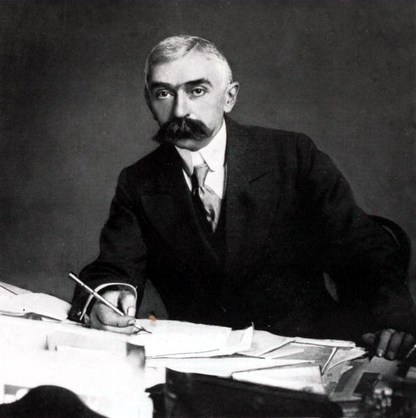 Baron Pierre de Coubertin opposed female participation in the Olympic Games ©Popperfoto/Getty Images