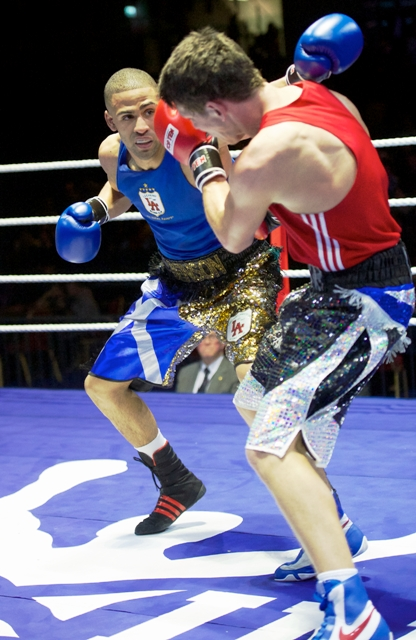 Benson will represent Team Scotland in the welterweight division at Glasgow 2014 ©Boxing Scotland/Rebecca Lee