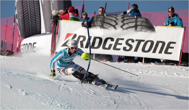 Bridgestone are involved in sponsoring several sports, including skiing ©Bridgestone