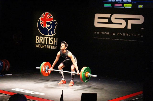 British Weight Lifting and ESP have signed a sponsorship deal which was debuted at the recent British Championships in Coventry ©BWL