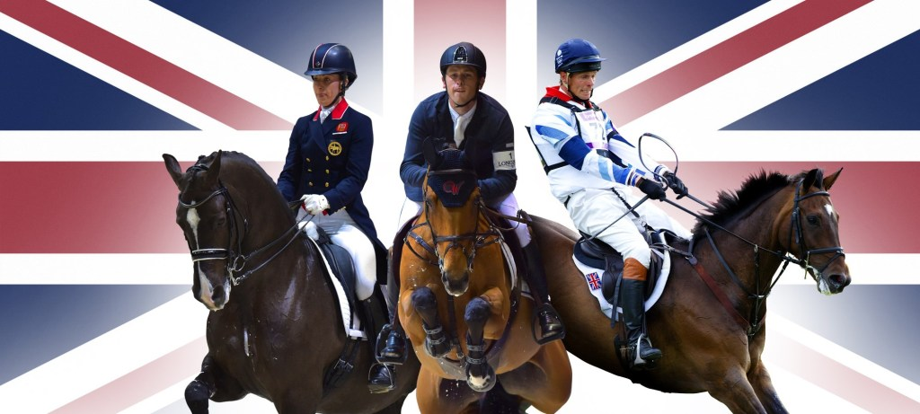 British riders have broken all-time records, occupying the world number one slots in all three Olympic equestrian disciplines ©FEI