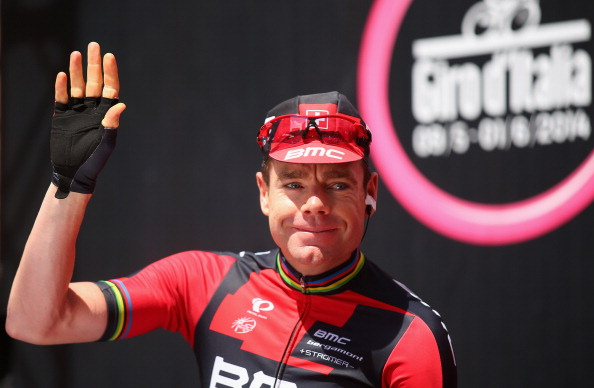 Cadel Evans took the overall lead as compatriot Michael Matthews faltered on the mountainous course ©Velo/GettyImages