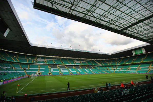 Celtic Park is set to be the venue for the Glasgow 2014 Opening Ceremony with the stadium seeing a large reduction in its capacity due to a large LED screen being used in the Ceremony ©Getty Images