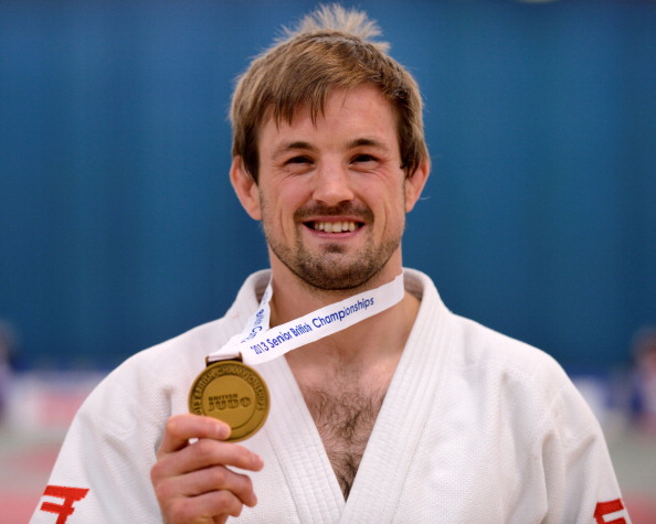 Colin Oates will come into Glasgow 2014 full of confidence after earning gold at the 2014 Baku Grand Slam ©Getty Images