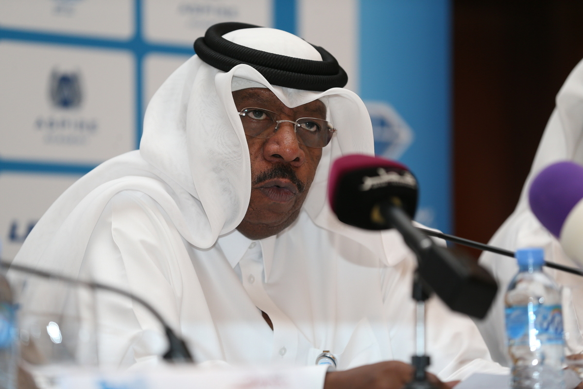 Dahlan Al Hamad, QAF President, is confident that Qatar's bid to host the 2019 IAAF World Championships will be a success ©Qatar Athletics Federation