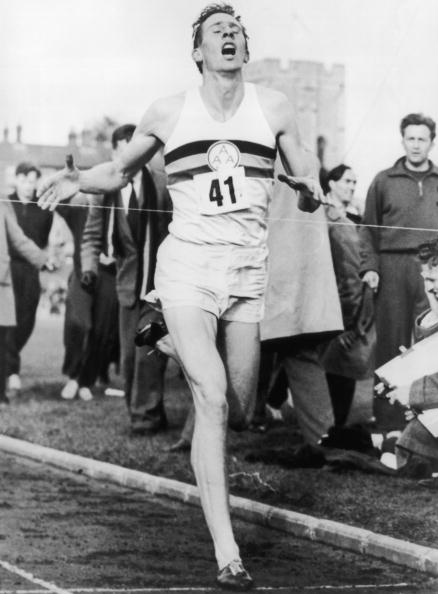 David Weir was hoping to break the three minute mile mark on the 60 year anniversary of Sir Roger Bannister breaking the four minute mark for the mile on May 6, 1954 ©Getty Images