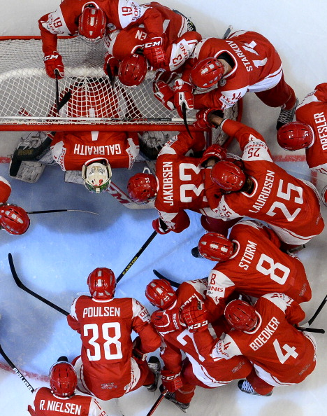 Denmark's men's national ice hockey team is currently 13th in the IIHF world rankings and has participated in the World Championship for 12 consecutive years ©Getty Images