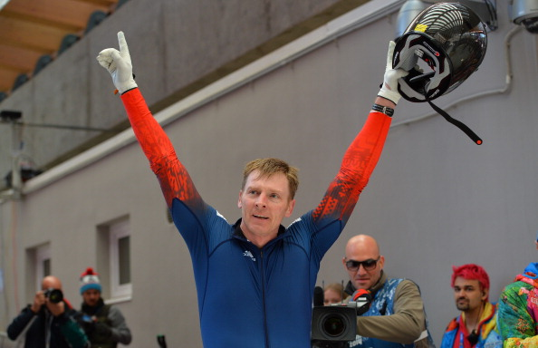 Double gold medal winner at Sochi 2014 Alexander Zubkov was injured after being attacked ©AFP/Getty Images