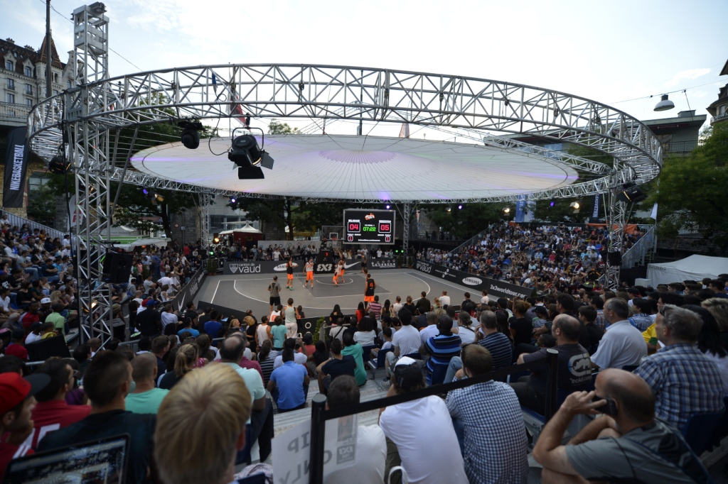 FIBA has signed a long-term contract with IMG Media giving the agency distribution of the worldwide rights of FIBA's 3x3 official competitions ©FIBA