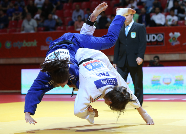 France sit top of the Baku Grand Slam medal table after adding another gold on the second day of action in Azerbaijan ©IJF