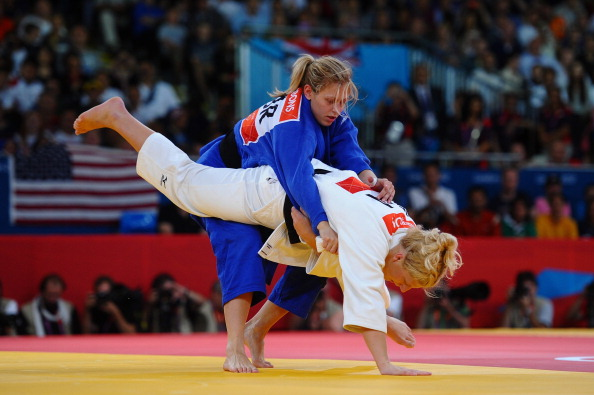 Gemma Gibbons took silver at the London 2012 Games becoming the first Briton to win an Olympic judo medal in 12 years ©Getty Images