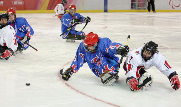 Great Britain are among six teams currently in the B-Pool of ice sledge hockey nations ©AFP/Getty Images
