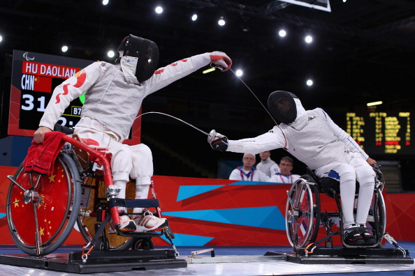 Great Britain has won a record three medals at the Lonato Wheelchair Fencing World Cup ©Getty Images