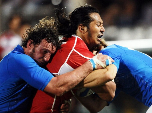 IEC in Sports will handle distribution rights for next month's test match between Japan and Italy ©AFP/Getty Images