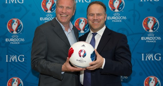 IMG Licensing has been appointed the Master Licenser for the 2016 UEFA European Championships ©UEFA