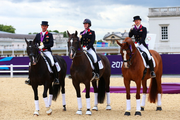 Jason Brautigam takes over the role at British Dressage following the team's success at London 2012 which saw them take three gold medals, including gold in the team dressage event ©Getty Images