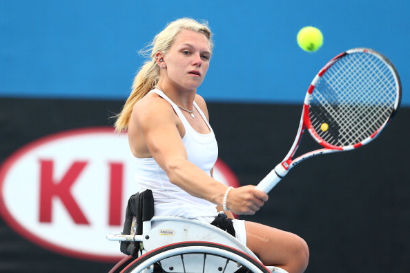 Jordanne Whiley retained the women's singles gold at the Atlanta Open ©Getty Images