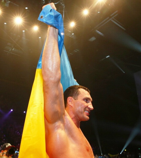 Klitschko has stated that he wants to fight for a second Olympic gold medal at Rio 2016 ©Bongarts/Getty Images