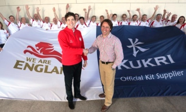 Kukri signed a deal to become official kit supplier to Team England at S Georges Park last year ©Kukri
