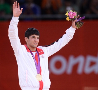 Lasha Shavdatuashvili is among the stars to compete at the Baku Grand Slam this weekend ©AFP/Getty Images