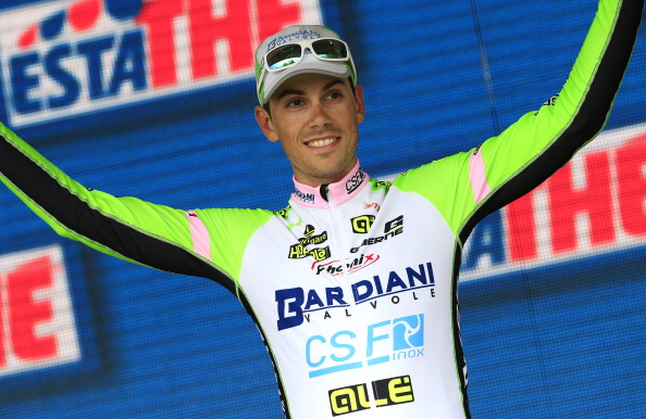 Marco Canola has won stage 13 of the Giro d'Italia ©AFP/Getty Images