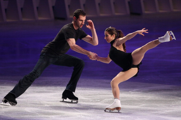 Marissa Castelli and Simon Shnapir have announced the end of their partnership ©Getty Images