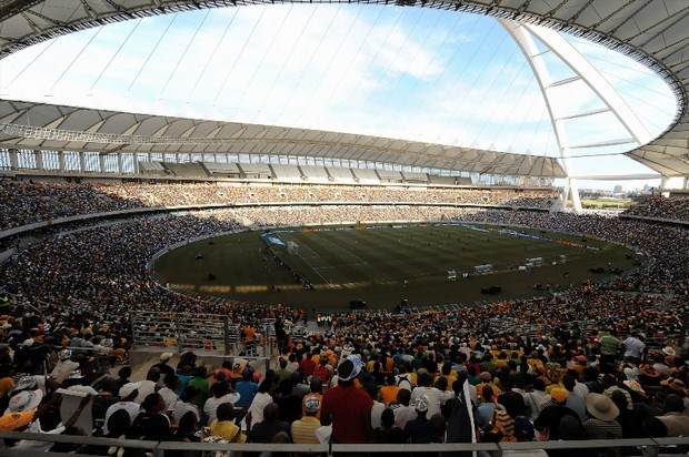 The Moses Mabhida Stadium will host the Nedbank Cup final on May 17 ©Getty Images