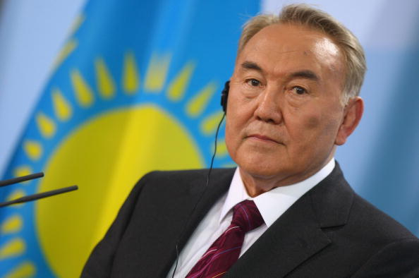 Nursultan Nazarbayev has repeatedly pledged his support behind the Almaty 2022 bid ©Getty Images
