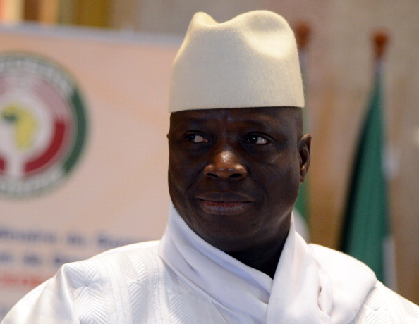 President Yahya Jammeh removed The Gambia from the Commonwealth last October ©AFP/Getty Images