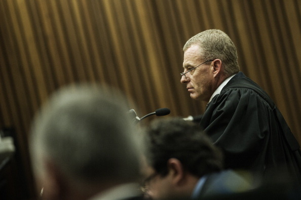 """Prosecution lawyer Gerrie Nel said yesterday a psychiatric evaluation was """"essential"""" ©AFP/Getty Images"""