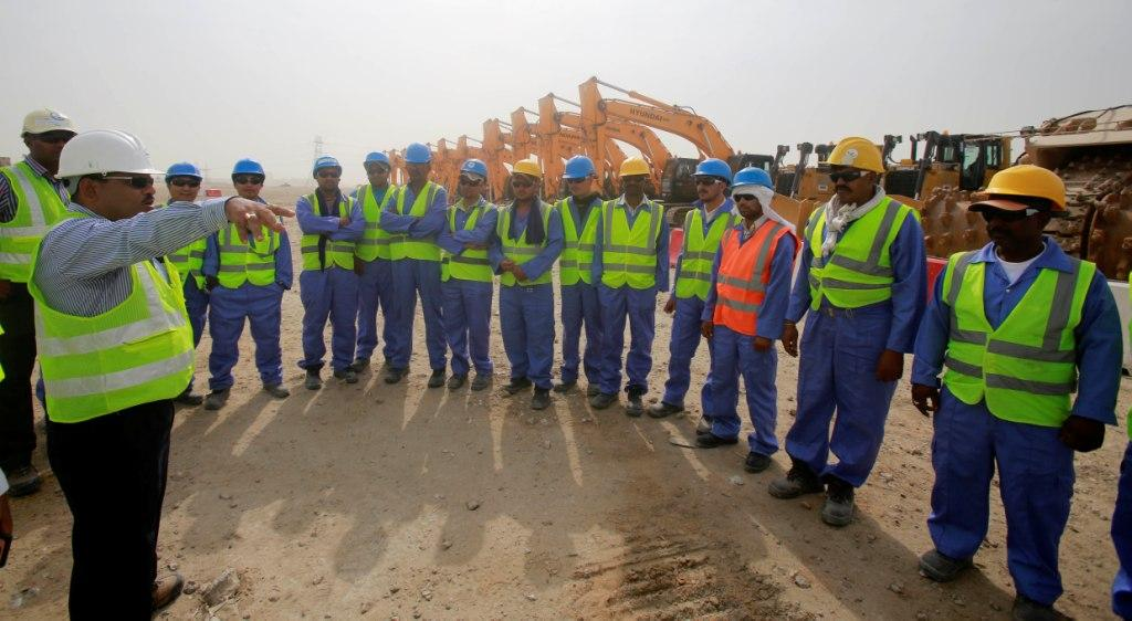 Qatar has broken ground at the Al Wakrah Stadium as the second phase of construction gets underway ©SC